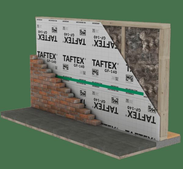 Technische tekening TAFTEX GF140